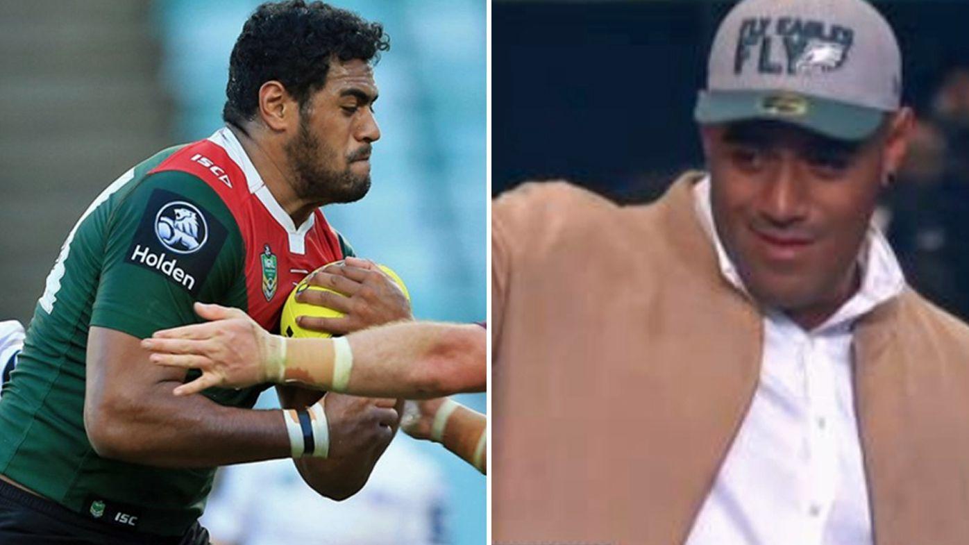 Former South Sydney Rabbitohs player Jordan Mailata picked by Philadelphia Eagles in NFL draft