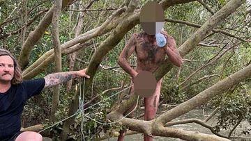 Darwin naked fugitive