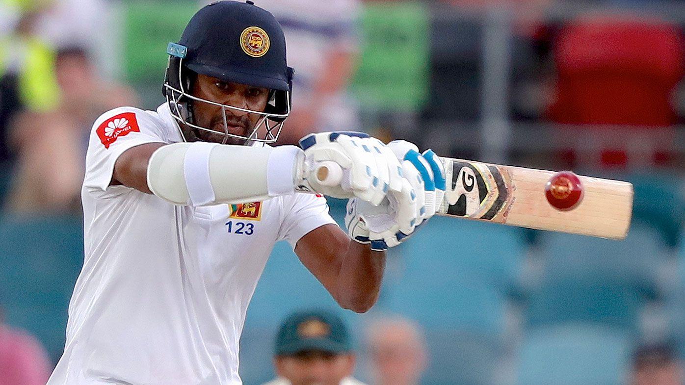Sri Lanka captain Dimuth Karunaratne arrested after car accident