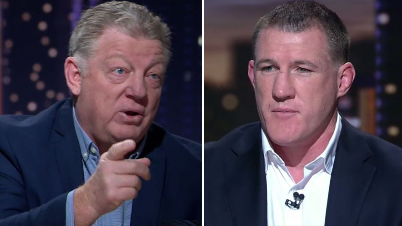 Phil Gould and Paul Gallen go head-to-head over NRL's controversial six-again rule