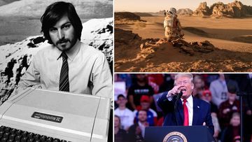 Steve Jobs, Matt Damon in the The Martian and US President Donald Trump: Predictions for 2020