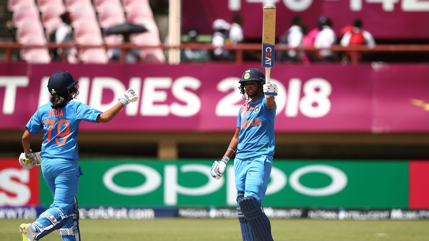 Kaur powers India women to T20 win over NZ