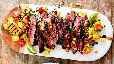 Spicy Texan-style beef bavette