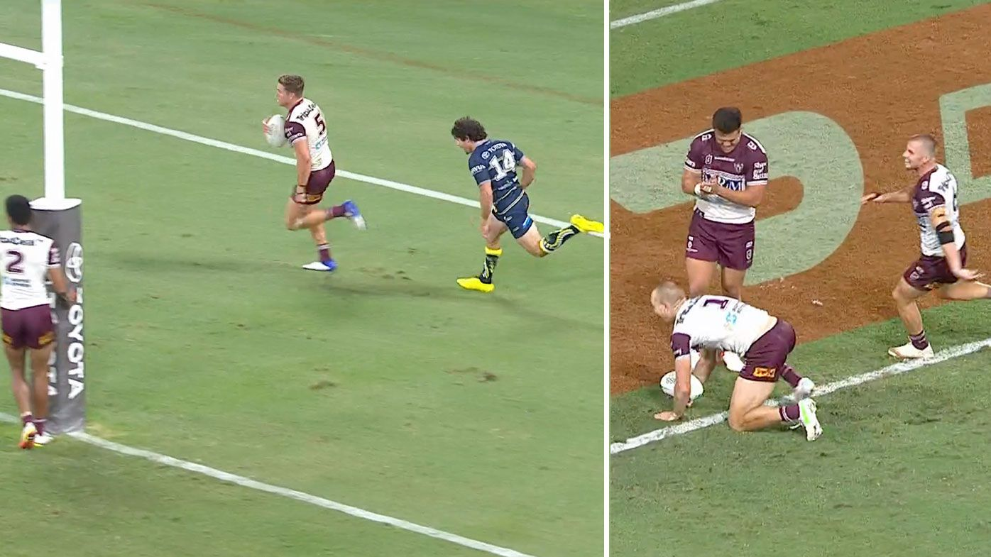 'Out of this world' try hands Tom Trbojevic hat-trick as Manly run riot in epic final play