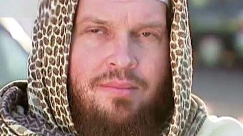 Mark John Taylor in Syria. (3NEWS NZ)