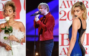 All the glitz and glamour from the Brits
