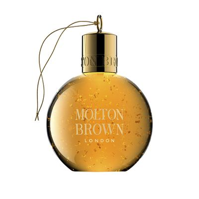 "<a href=""http://www.moltonbrown.com.au/store/index.jsp?cm_mmc=ppc_google-_-AU_Brand_Variations-_-Core+KW+-+p%26b-_-keyword&gclid=CL3SpqD2utACFZaSvQodO2gFXg"" target=""_blank"">Molton Brown Vintage 2016 Mesmerising Oudh Accord & Gold Festive Shower Gel Bauble, $20.</a>"