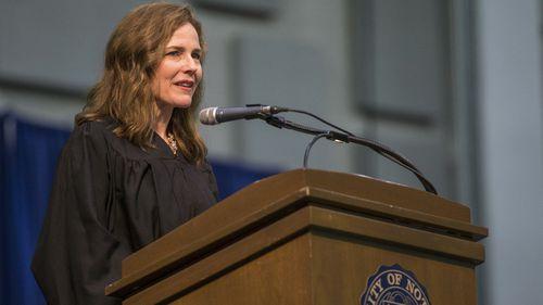 Supreme Court contender Amy Coney Barrett.
