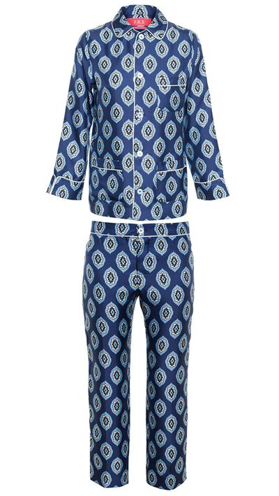 They say time is the ultimate luxury, but I'll settle for the next best thing: a pair of silk pyjamas.