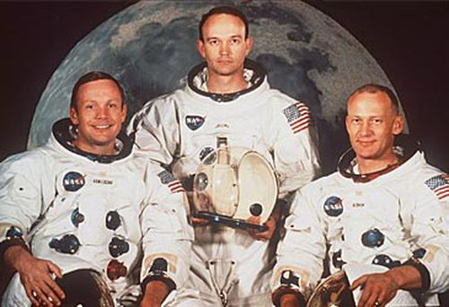 Neil Armstrong, Michael Collins and Buzz Aldrin (NASA)