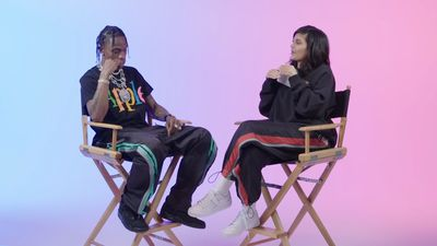 Kylie Jenner and Travis Scott open up about 'super private' relationship in first joint interview: 'We love each other'