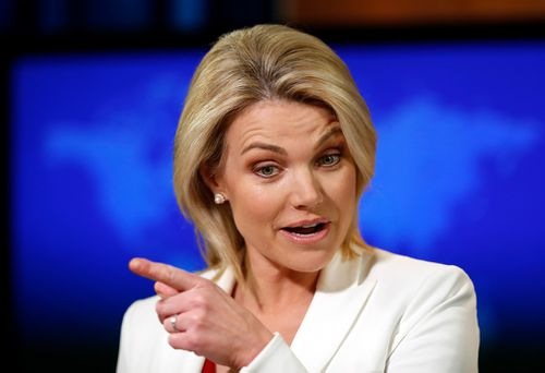 Mr Trump also said he would replace outgoing US Ambassador to the UN Nikki Haley, one of the most popular women in his Cabinet, with State Department spokeswoman (and former Fox News host) Heather Nauert.