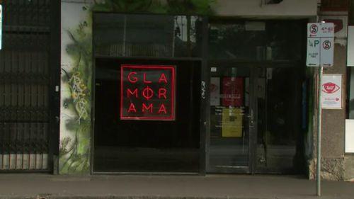 The alleged attack unfolded outside Brunswick nightclub, Glamorama. (9NEWS)