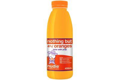 Nudie orange juice (400ml)