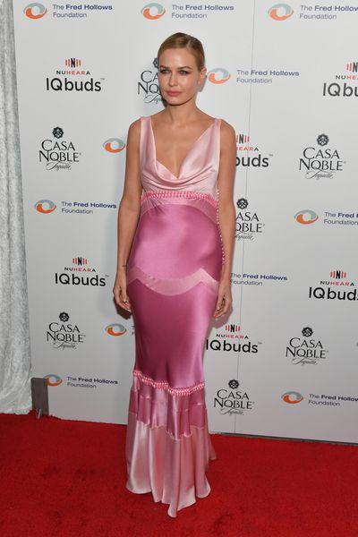 Lara Bingle at the Inaugural Los Angeles Gala Dinner in Hollywood, November, 2017