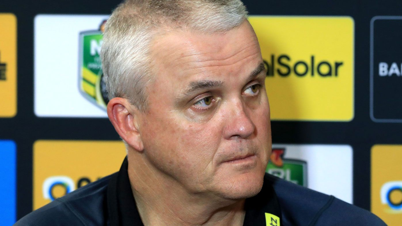 Anthony Griffin is reportedly the 'early favourite' to claim the Dragons head coaching job. (Getty)