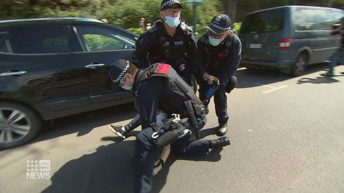 Melbourne protests Saturday