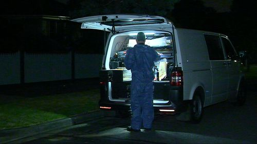 Police believe at least two men attacked the 32-year-old man. (9NEWS)