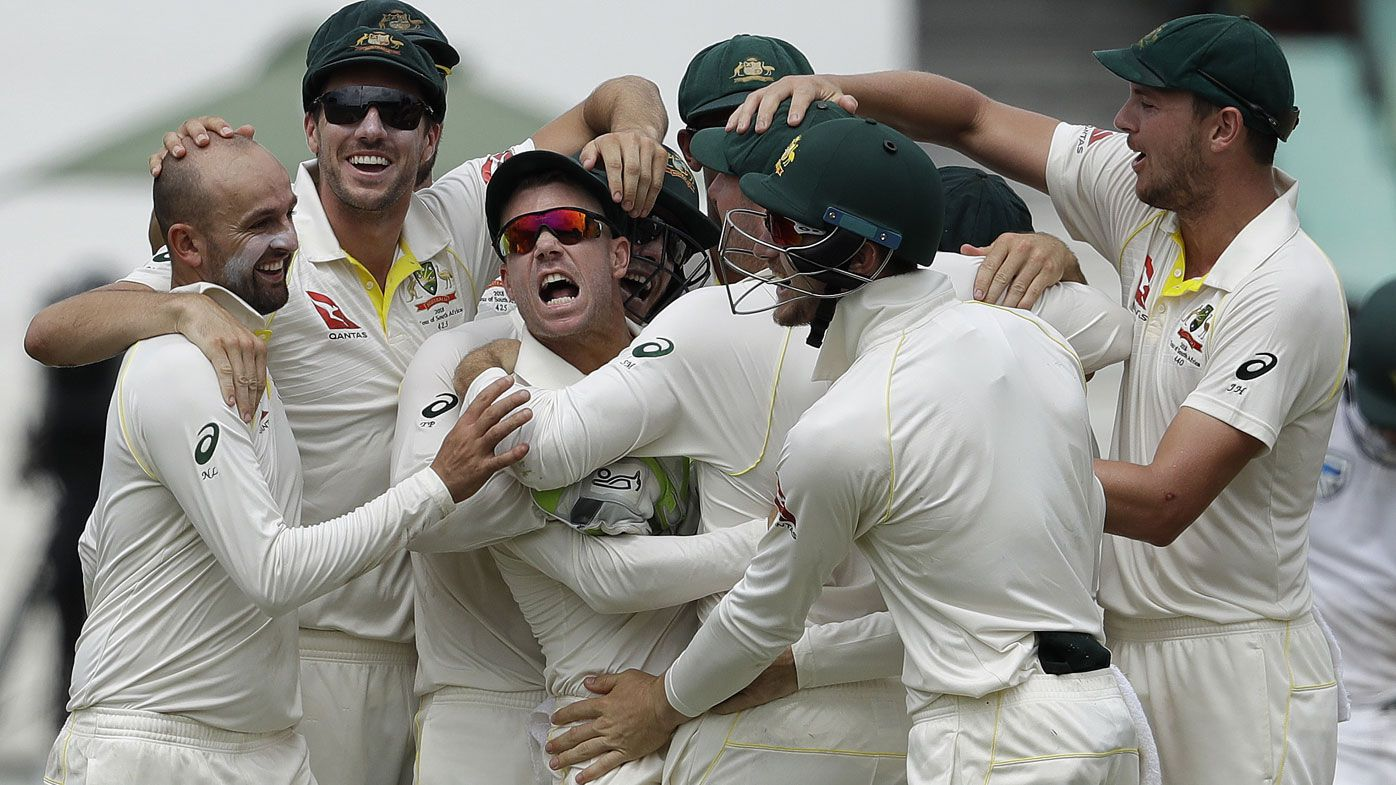 Cricket should adopt a red card system to stop sledging in the game, says Peter FitzSimons