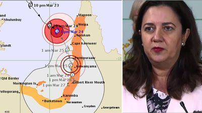 Cyclone Nora now set to hit Queensland as category 3 storm