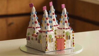 The Australian Women's Weekly candy castle cake