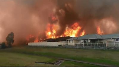 NSW bushfires threaten homes