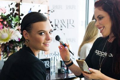 @davidjonesstore: Who's getting excited for tonight's #ARIA awards? Our girl @montanacox1 is getting glammed up by the team at @napoleonperdis - stay tuned for more #ARIA action! @aria_official #djsredcarpet #ariaawards