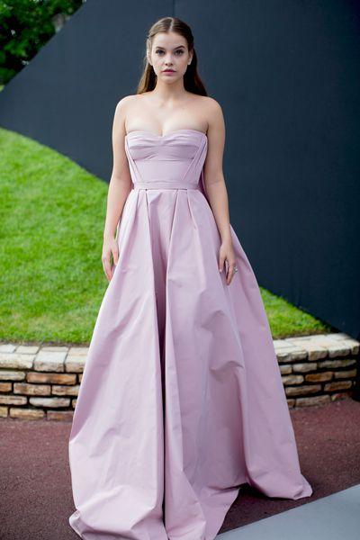 Barbara Palvinat the amfAR Gala, Cannes 2017