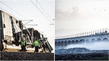 Police have confirmed two more bodies have been found in the train wreckage on a bridge near Copenhagen, Denmark, bringing the death toll to eight.
