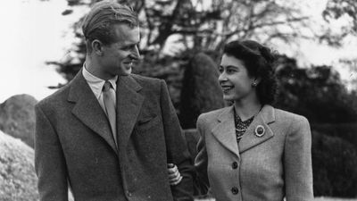 Prince Philip and Queen Elizabeth, 1947