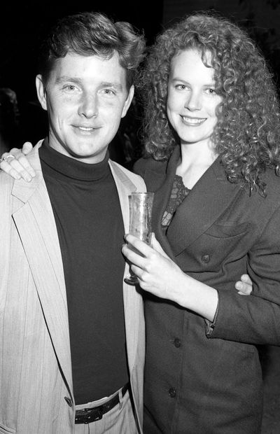 In 1988 at the premiere of <em>The Man From Snowy River II</em> with Tom Burlinson, Nicole Kidman was yet to discover the joys of couture.