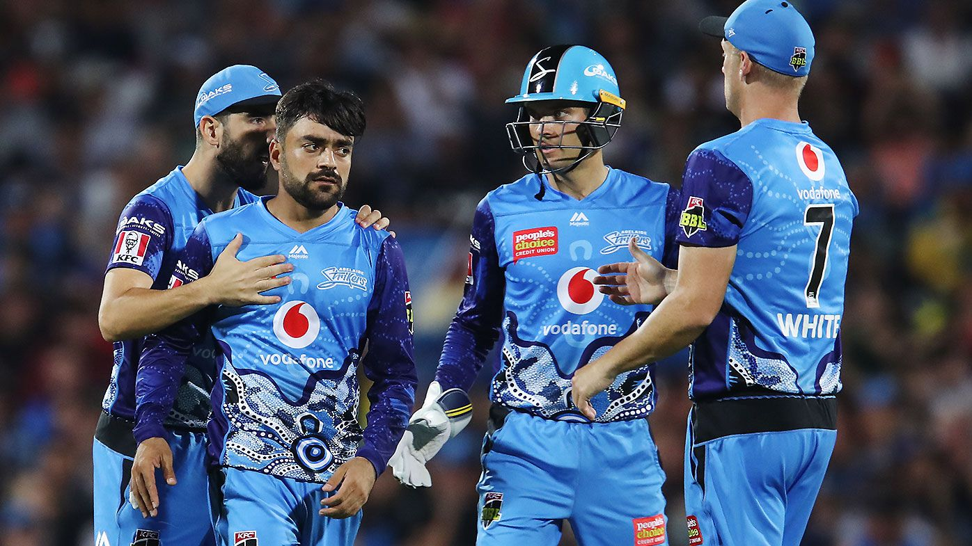 Rashid Khan's double-strike leads to spectacular Perth Scorchers collapse in BBL thriller