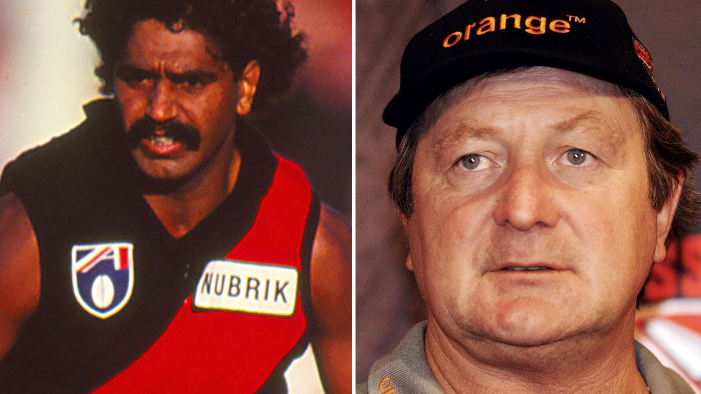 AFL legends Kevin Sheedy and Derek Kickett end 25 years of bad blood with meeting