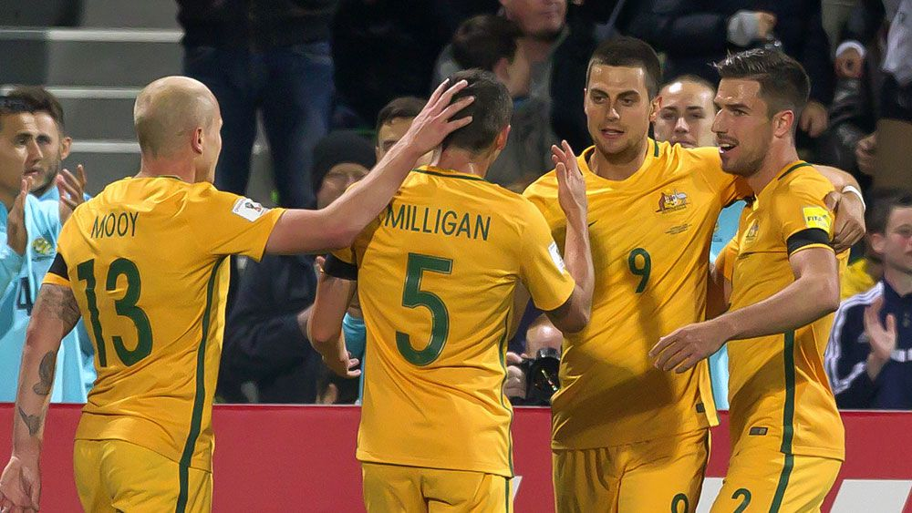 The Socceroos World Cup qualifiers will be broadcast live on 9GO!. (AAP)