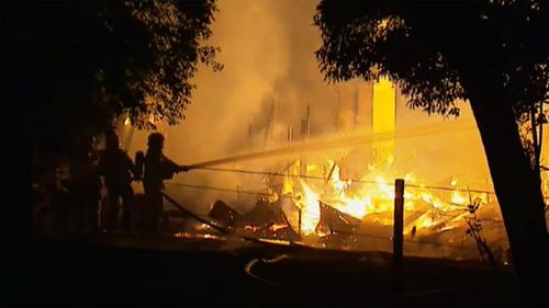 Melbourne house riddled with asbestos razed in suspicious fire