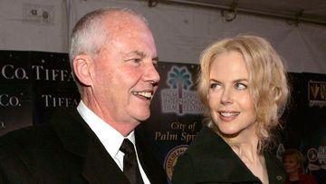 Nicole Kidman and her father Antony. (AAP)