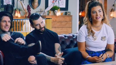 The team on Tattoo Fixers was determined to cover up Katie's tattoo.