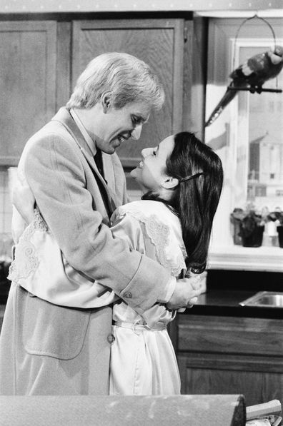 Brad Hall, Julia Louis-Dreyfus, Saturday Night Live