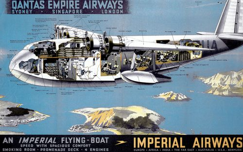 The new aircraft are a far cry from the first Australia to London flights.