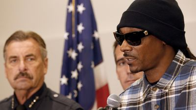 "Rappers Snoop Dogg and The Game <a href=""http://www.9news.com.au/sitecore/content/news/news/world/2016/07/09/07/00/dallas-shooting-snoop-dogg-and-the-game-protest-outside-la-police-hq"">called for unification</a> after leading a peaceful protest against fatal police shootings in Los Angeles."
