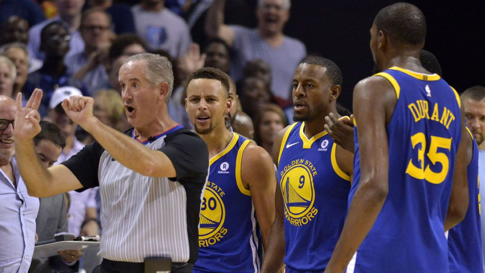 Golden State Warriors Stephen Curry and Kevin Durant ejected in loss to Memphis Grizzlies