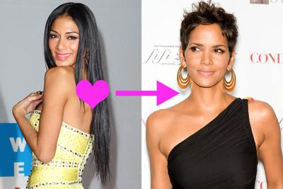 "Ex-Pussycat doll Nicole Scherzinger goes cuckoo over 45-year-old Halle Berry. ""She's just naturally gorgeous. I love her smile,"" Nicole told Maxim. ""Wait, I sound like a dude; I've got to snap out of it."" Reoww!"