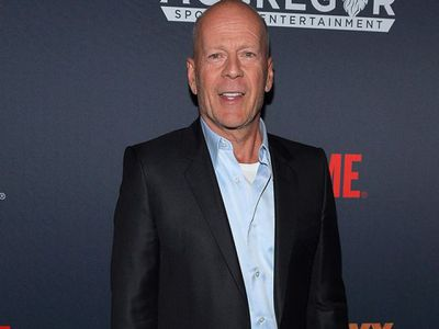 Bruce Willis, who famously played a boxer in Pulp Fiction, was there. (Getty)