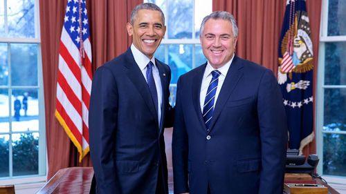 Joe Hockey sworn in as US ambassador by Barack Obama