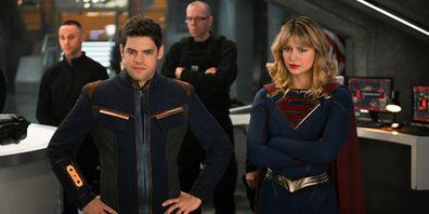 Jeremy Jordan, Melissa Benoist, Supergirl