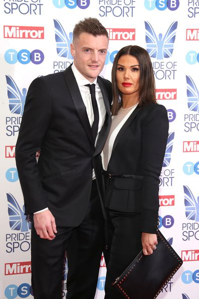 Rebekah Vardy with husband Jamie