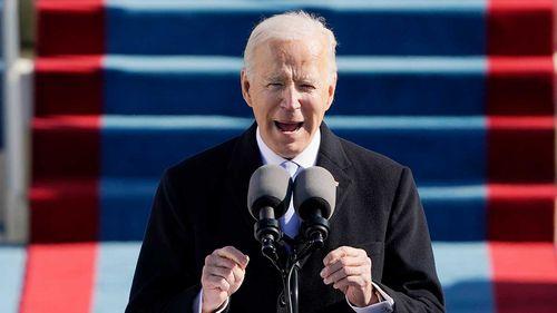 Joe Biden has called for unity in his inaugural address.