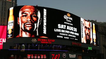 Las Vegas buzzing ahead of Mayweather vs McGregor fight