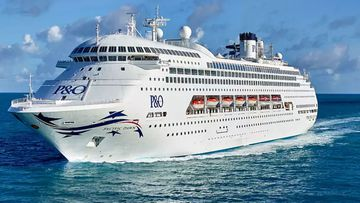 The Pacific Dawn is one of the remaining four cruise ships yet to leave Queensland waters.