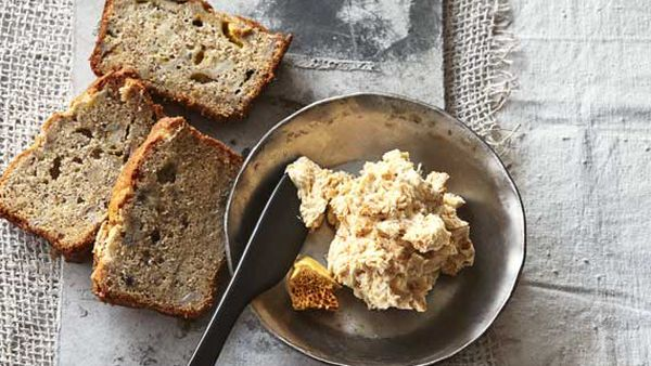 Mark Best's banana bread with honeycomb butter